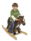 Rock and Trot Rocking Horse - Plush Melissa and Doug