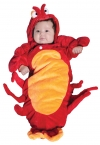 Baby Halloween Costume Lobster Bunting Infant 0 to 6 Months